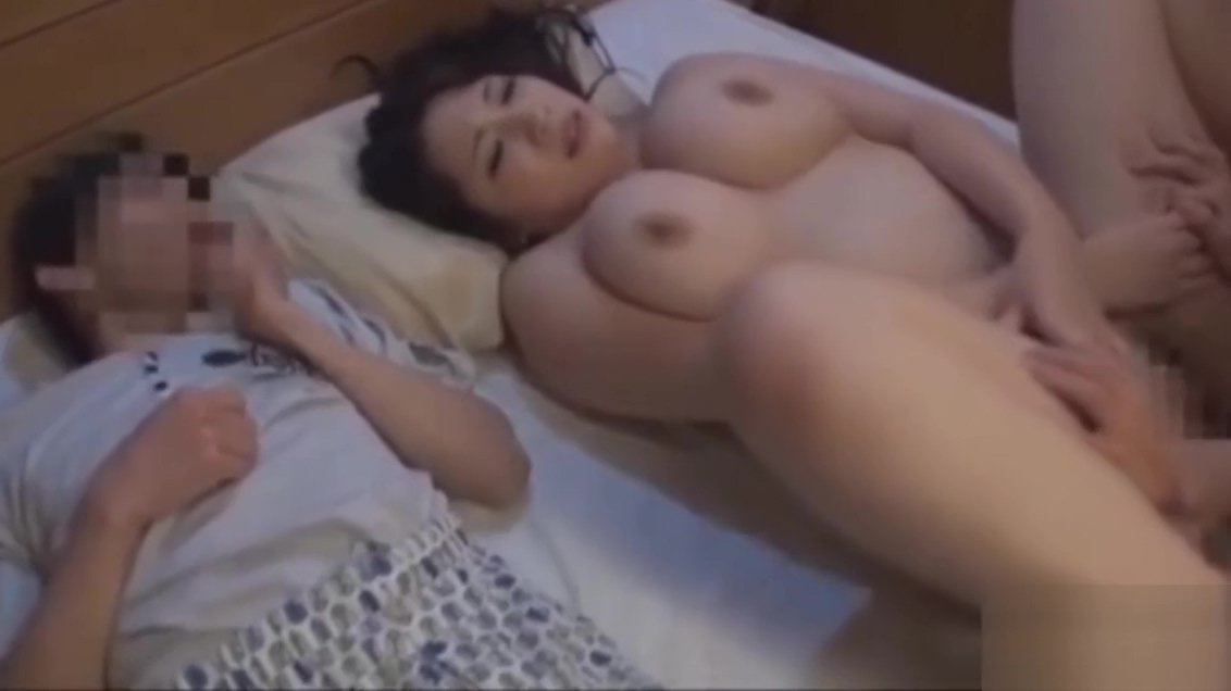 mom fucks one of his sons in front of his friend