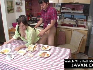 Hot Japanese Mom And Stepson