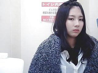 beauty Asian toliet hiddencam