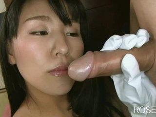 Roselip0941 Japanese Rubber Glove Handjob