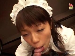 Japanese Girl Fucked at bar