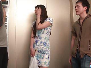 Nana Nakamura acts naughty and sensual in top trio