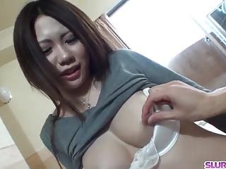 Miyu Ninomiya gets cock in pussy from random guy