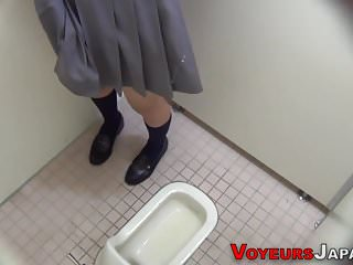 Asian teen spied pissing