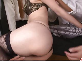 Top Japanese xxx along office milf, Maki Hojo