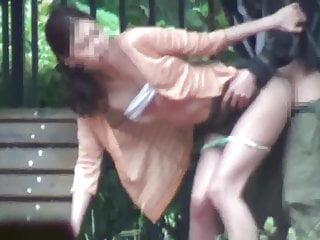 Thrill outdoor sex