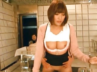 Jap presenter fucked during live show 18-43